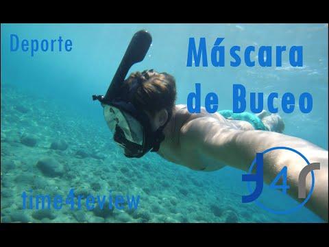 Máscara de buceo Review  ESPAÑOL