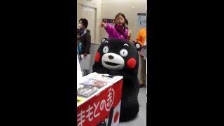 熊本観光のPRするモン^^