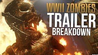 Call of Duty WW2 Zombies Trailer BREAKDOWN & Story Info