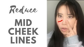 Reduce Mid-Cheek Lines with Scissors Exercise