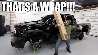 FINALLY WRAPPING MY TRUCK!!!! INSANE COLOR CHOICE!!!!