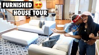 FINALLY!!! OUR OFFICIAL FURNISHED HOUSE TOUR!!