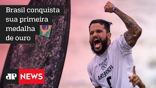 Ítalo Ferreira conquista ouro no surfe nas Olimpíadas de Tóquio