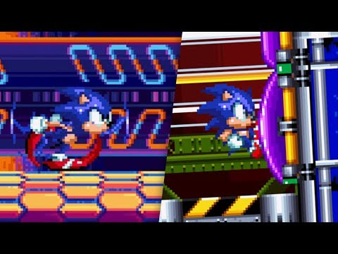 Download Sonic Mania Better Sonic 3 Sprites Video 3GP Mp4