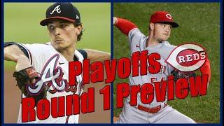 Braves vs Reds MLB Playoffs Round 1