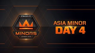 The FACEIT Asian Minor | Day 4 & Europe Minor | Day 1 | Kholo.pk