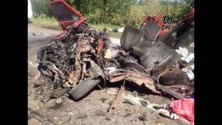Столкновение автобуса и легковушки под Чугуевом - подробности ДТП - 29.08.16