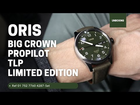 ORIS BIG CROWN PROPILOT TLP LIMITED EDITION 01 752 7760 4287-SET