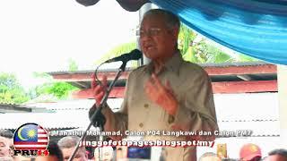 20180504 Amanat Dr Mahathir Di Merlimau Melaka