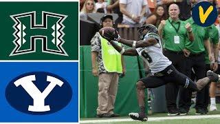 Hawaii Vs BYU Highlights   2019 Hawaii Bowl   College Football
