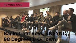 REWindCon: Backstreet Boys, *NSYNC, 98 Degrees and O-Town!