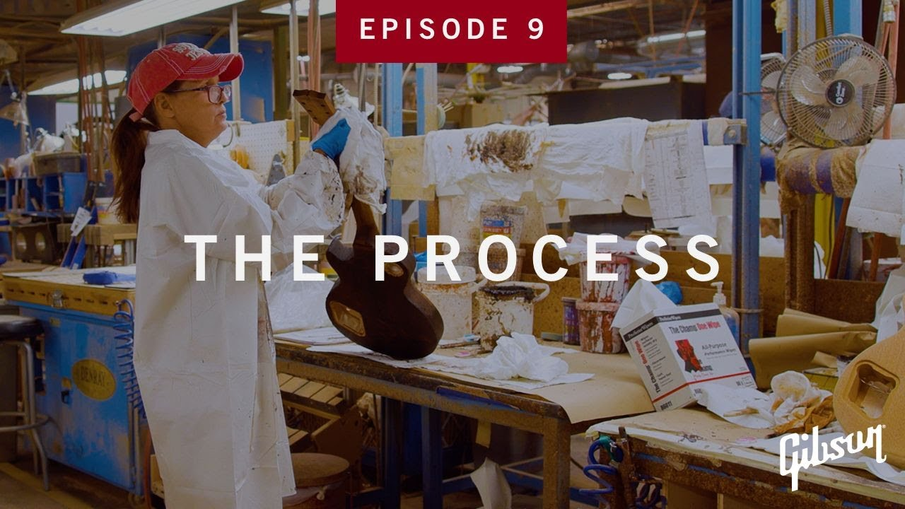 The Process: Episode 9 - Final Sanding And Color Prep At Gibson USA