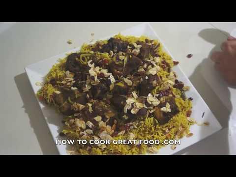 Arabic Lamb Kabsa Recipe – Middle Eastern Arab Machbus Machboos كبسة – مكبوس