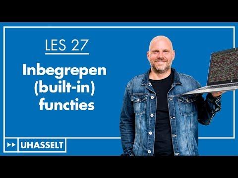 Ingebouwde (built-in) functies