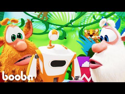 Booba 😊 The Robot - หุ่นยนต์ 🐻การ์ตูนสำหรับเด็ก⭐ Super Toons TV Thaiai