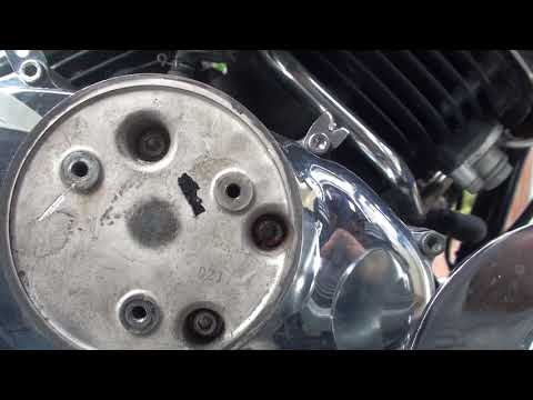 Yamaha V Star 650 Oil Change And Stripped Bolt Extraction