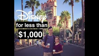 Disney Vacation Planning Under $1,000 Per Person | Affordable Disney Vacations | This Or That