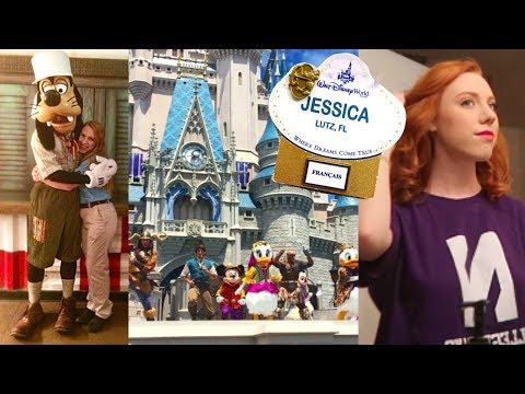 Working at DISNEY WORLD! | Get Ready With Me