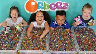 ORBEEZ Challenge #3 | Super Sour Warheads | MLP | Shopkins | LPS Prizes  | Toys AndMe