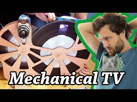 William Osman Builds a Terrible Mechanical TV