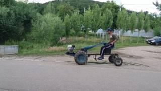 Probă Cutie De Viteze Motocultor Cu Motor 6.5 Cp.