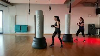 Koordinations- , Ausdauer- und Krafttraining mit Moni | FITBOXEN | Campus Fitness TV