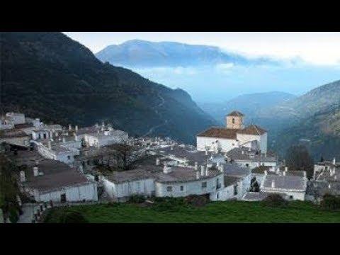 Alpujarra granadina, un horizonte sobre los terraos. Granada