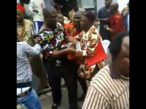Step to Revolution in Nigeria: IPOB attacked Ike Ekweremadu in Germany