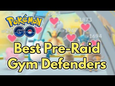 Pokemon GO Pre-Raid Gym Defense | Gen 4