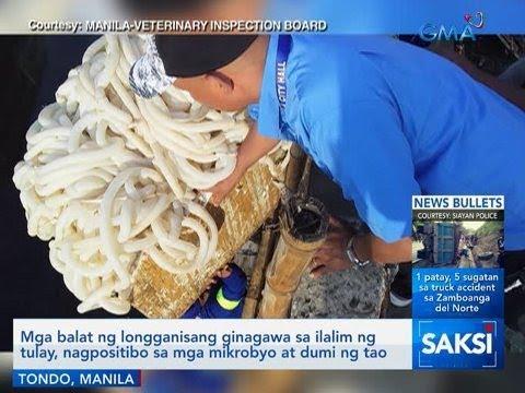 Saksi: Mga balat ng longganisang ginagawa sa ilalim ng tulay, nagpositibo sa ...
