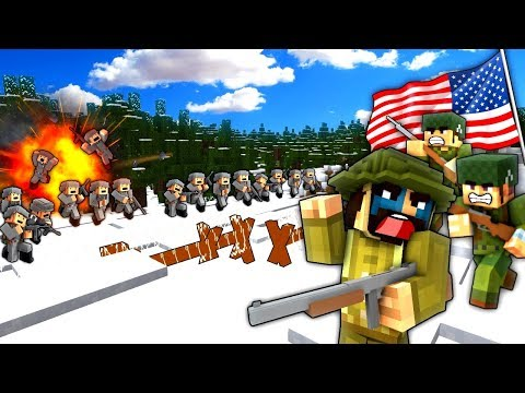 BATTLE OF THE BULGE! - Minecraft - Call to Battle