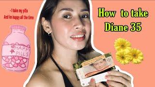 How to take Diane 35 pills