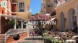 Capri Town, Italy | Virtual Travel By Allthegoodies.com