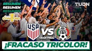 Resumen y goles | Estados Unidos vs México | Copa Oro 2021 - Final | TUDN
