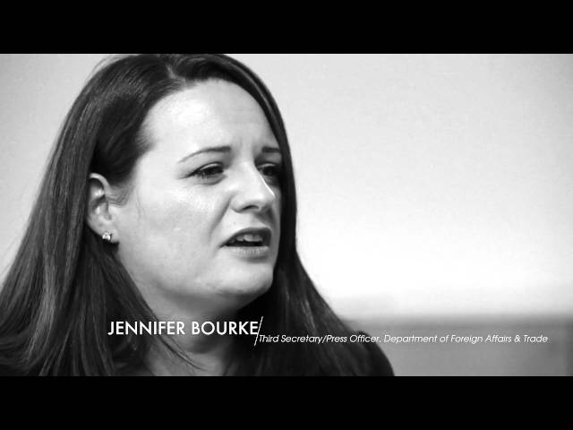 Jennifer Bourke - Third Secretary - Press Officer