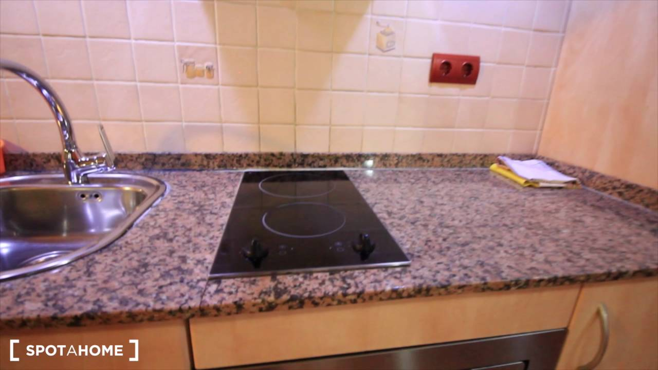 1-bedroom apartment with balcony for rent in El Gotic