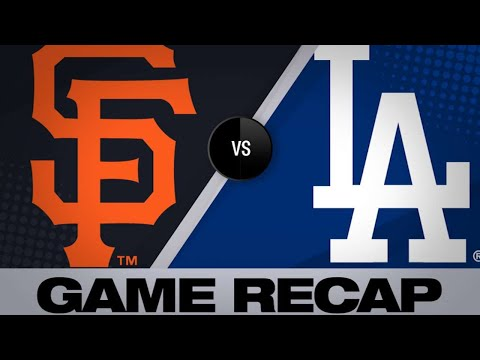 Taylor, Bellinger lead Dodgers to 9-2 win | Giants-Dodgers Game Highlights 6/19/19