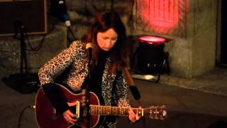 KT Tunstall performs 'Feel it all' at the Minack Theatre, 17th May 2013.