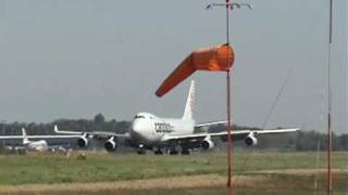 preview picture of video 'Cargolux Boeing 747-400F / Landing'