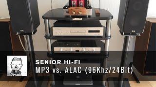 MP3 vs. ALAC 96 Khz 24 Bit