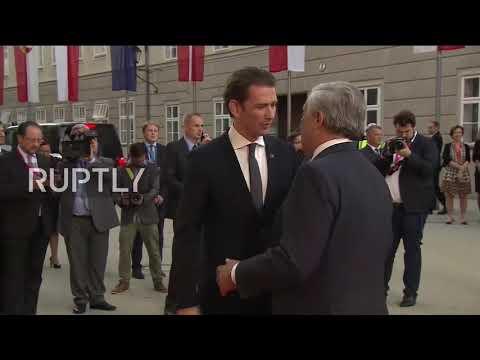 Austria: Kurz greets European leaders ahead of EU Summit in Salzburg