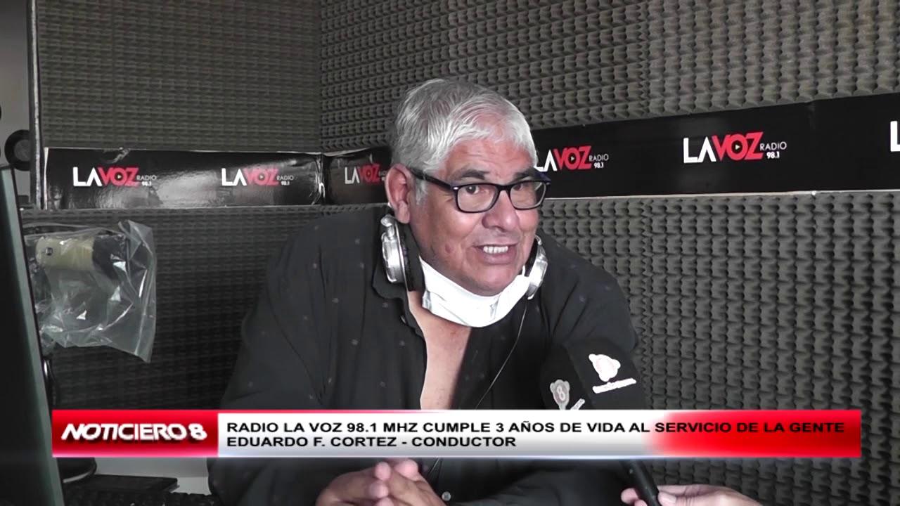 RADIO LA VOZ CUMPLIÓ 3 AÑOS DE VIDA EN NUESTRO CIUDAD