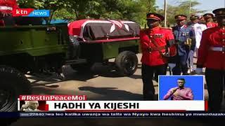 Hayati Mzee Moi apewa heshima ya Kijeshi: Safari ya Mzee