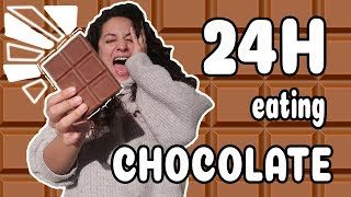 24H COMIENDO CHOCOLATE! OMG I Only Eat Chocolate! By Arivi TV