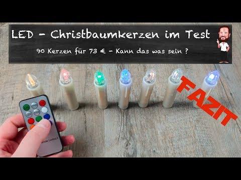 LED - Christbaumkerzen von Vingo | 90 Kerzen für 73 € - Kann das was sein ? (Deutsch / German)