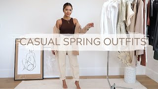 Casual Spring Outfits | Fashion Lookbook 2020
