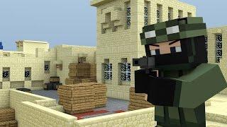 Minecraft動畫:反恐精英 Dust II - Counter Strike Parody