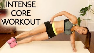 20 Minute Intense Ab Workout for a Flat Belly! Tone Core, Six Pack Abs, At Home by PsycheTruth