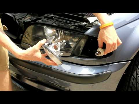 BMW E46 Clear Parking Lenses Install Tutorial