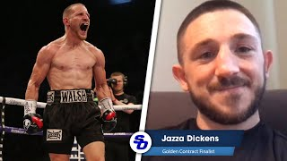 'YOU'RE LOOKING FOR A HEADLINE!' Jazza Dickens ONLY RESPECT for Ryan Walsh
